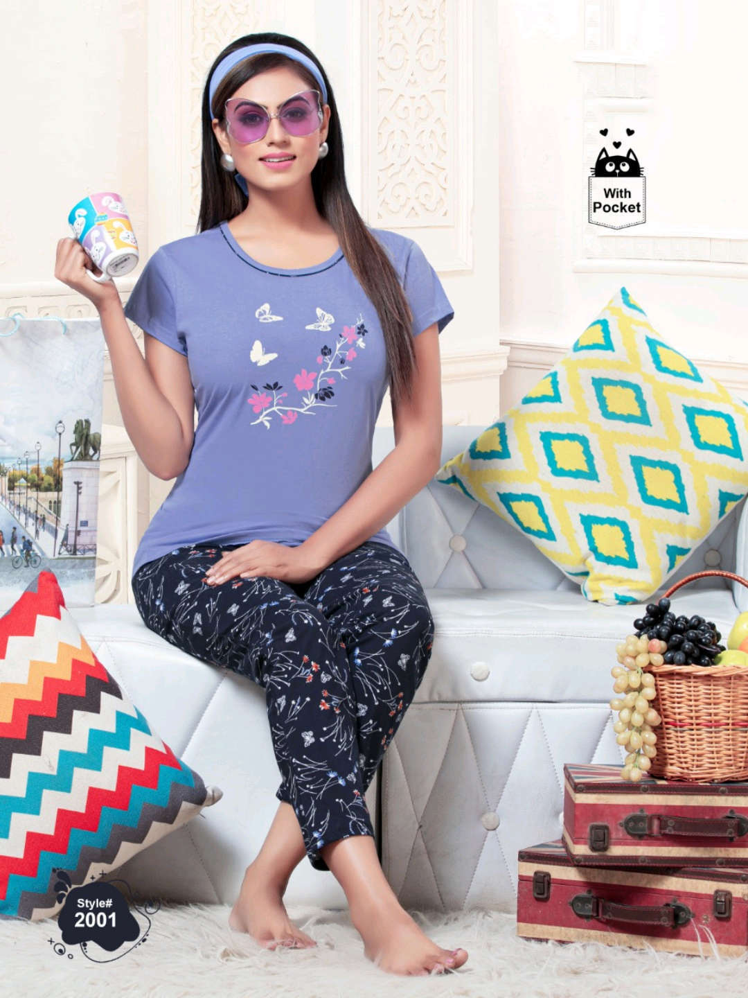 SF Premium Night Wear Vol 60 Wholesale Catalog 6 Pcs 5 - SF Premium Night Wear Vol 60 Wholesale Catalog 6 Pcs