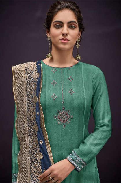 Shahnaz Arts Azira Pashmina Salwar Suit Wholesale Catalog 8 Pcs - Shahnaz Arts Azira Pashmina Salwar Suit Wholesale Catalog 8 Pcs