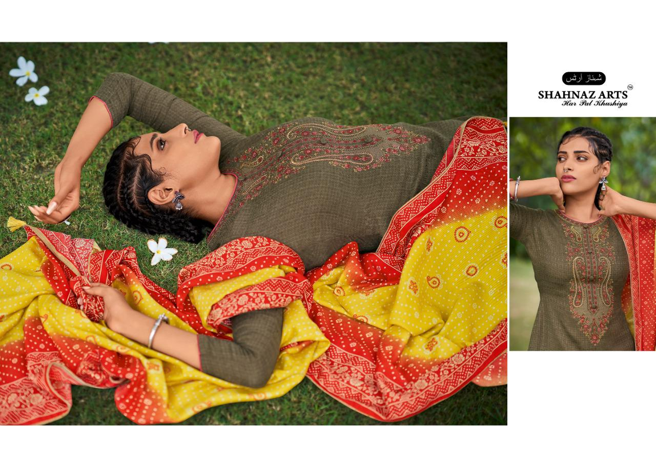 Shahnaz Arts Gulmohar Vol 4 Pashmina Salwar Suit Wholesale Catalog 8 Pcs 1 - Shahnaz Arts Gulmohar Vol 4 Pashmina Salwar Suit Wholesale Catalog 8 Pcs
