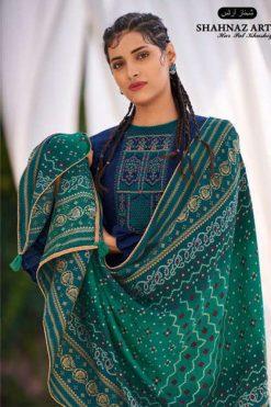 Shahnaz Arts Gulmohar Vol 4 Pashmina Salwar Suit Wholesale Catalog 8 Pcs