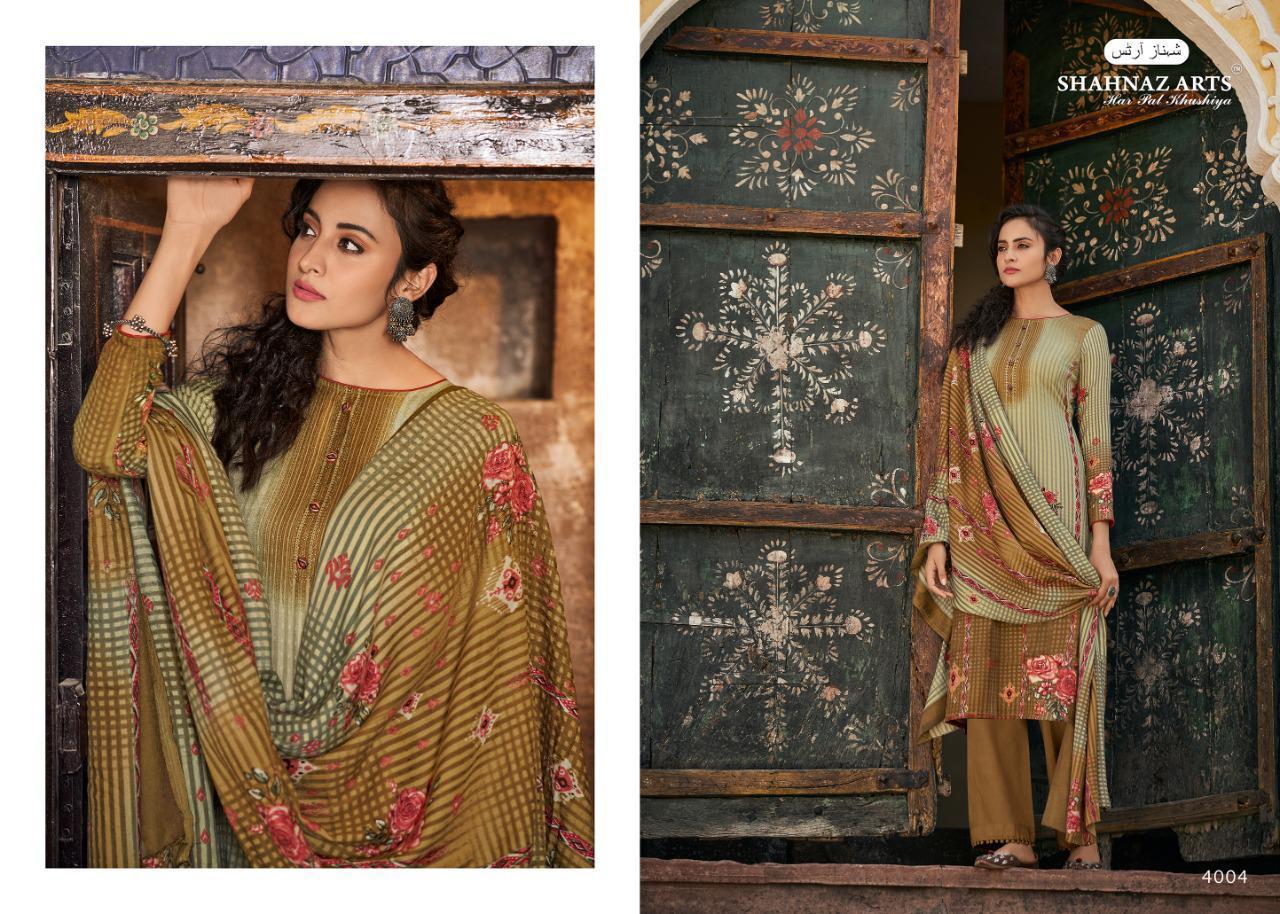 Shahnaz Arts Gulshan Vol 5 Pashmina Salwar Suit Wholesale Catalog 8 Pcs 1 - Shahnaz Arts Gulshan Vol 5 Pashmina Salwar Suit Wholesale Catalog 8 Pcs