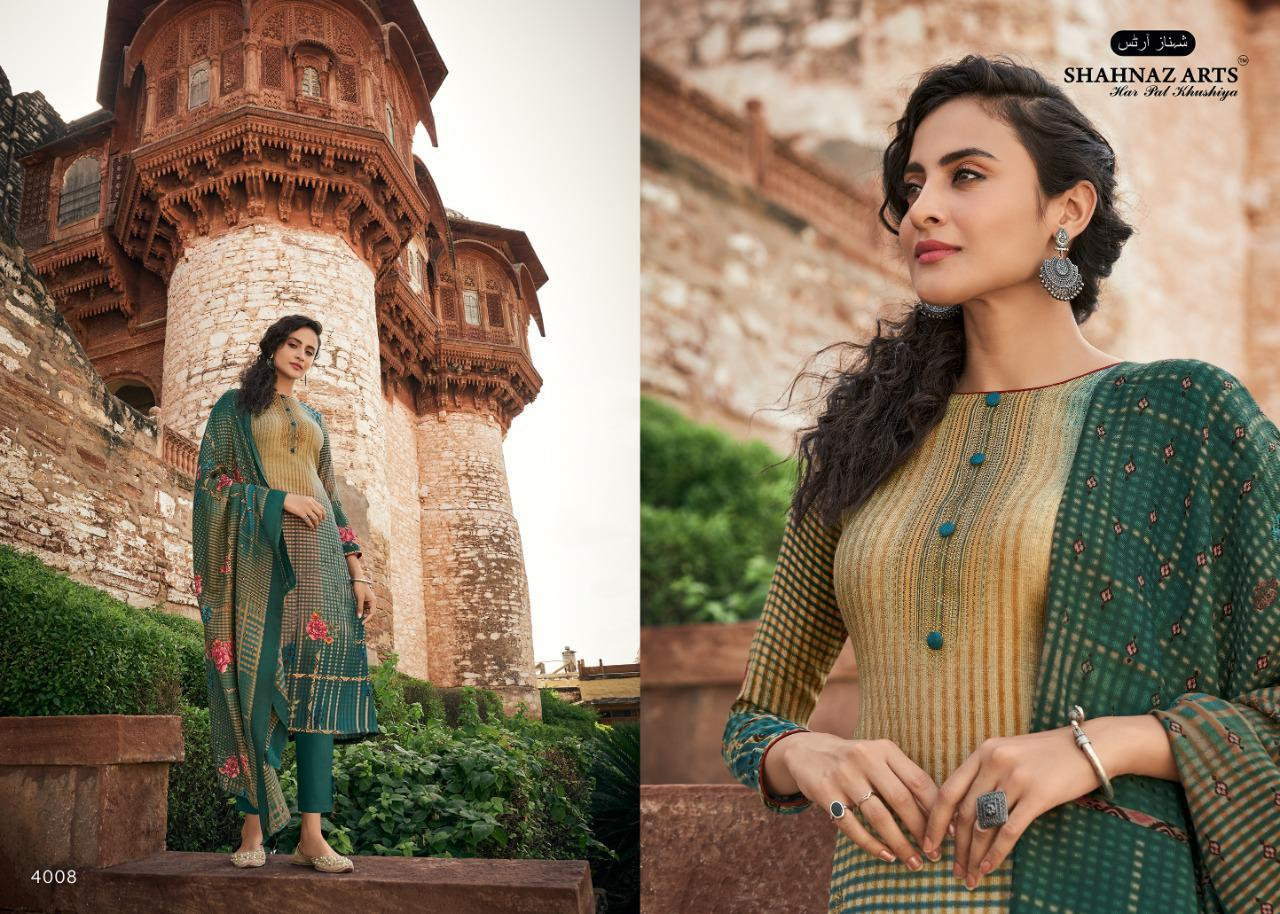 Shahnaz Arts Gulshan Vol 5 Pashmina Salwar Suit Wholesale Catalog 8 Pcs 10 - Shahnaz Arts Gulshan Vol 5 Pashmina Salwar Suit Wholesale Catalog 8 Pcs