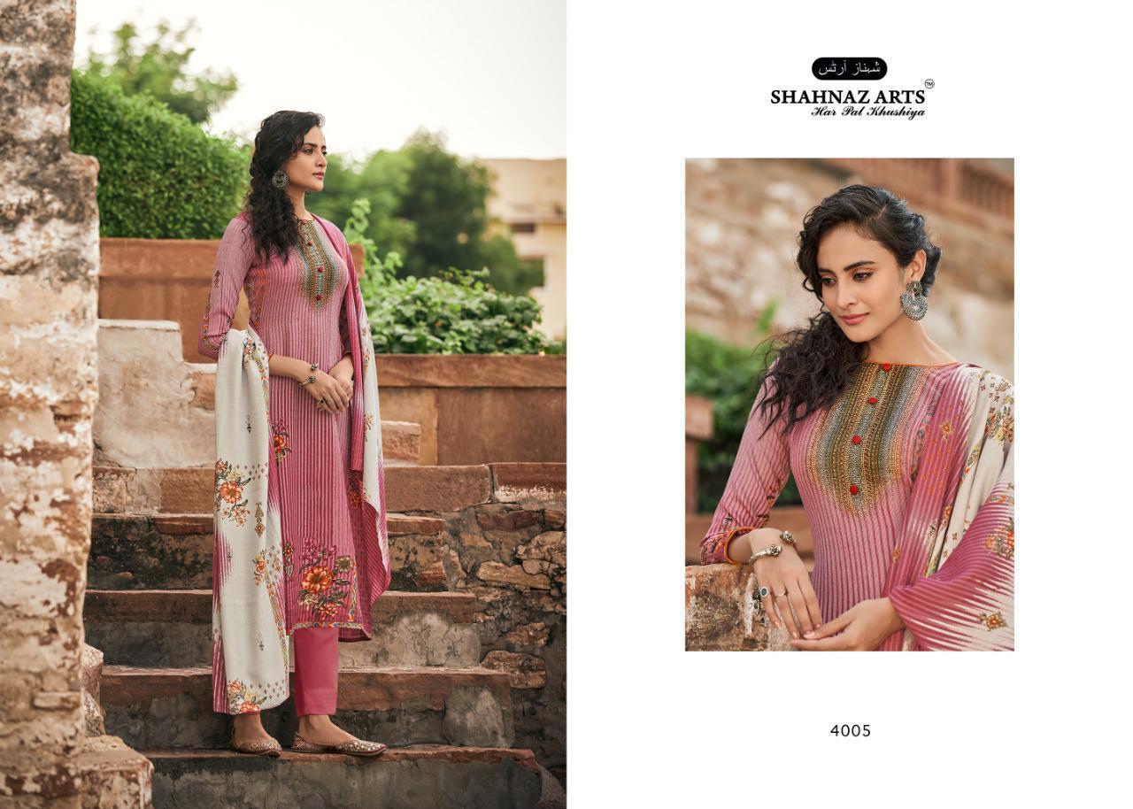 Shahnaz Arts Gulshan Vol 5 Pashmina Salwar Suit Wholesale Catalog 8 Pcs 11 - Shahnaz Arts Gulshan Vol 5 Pashmina Salwar Suit Wholesale Catalog 8 Pcs