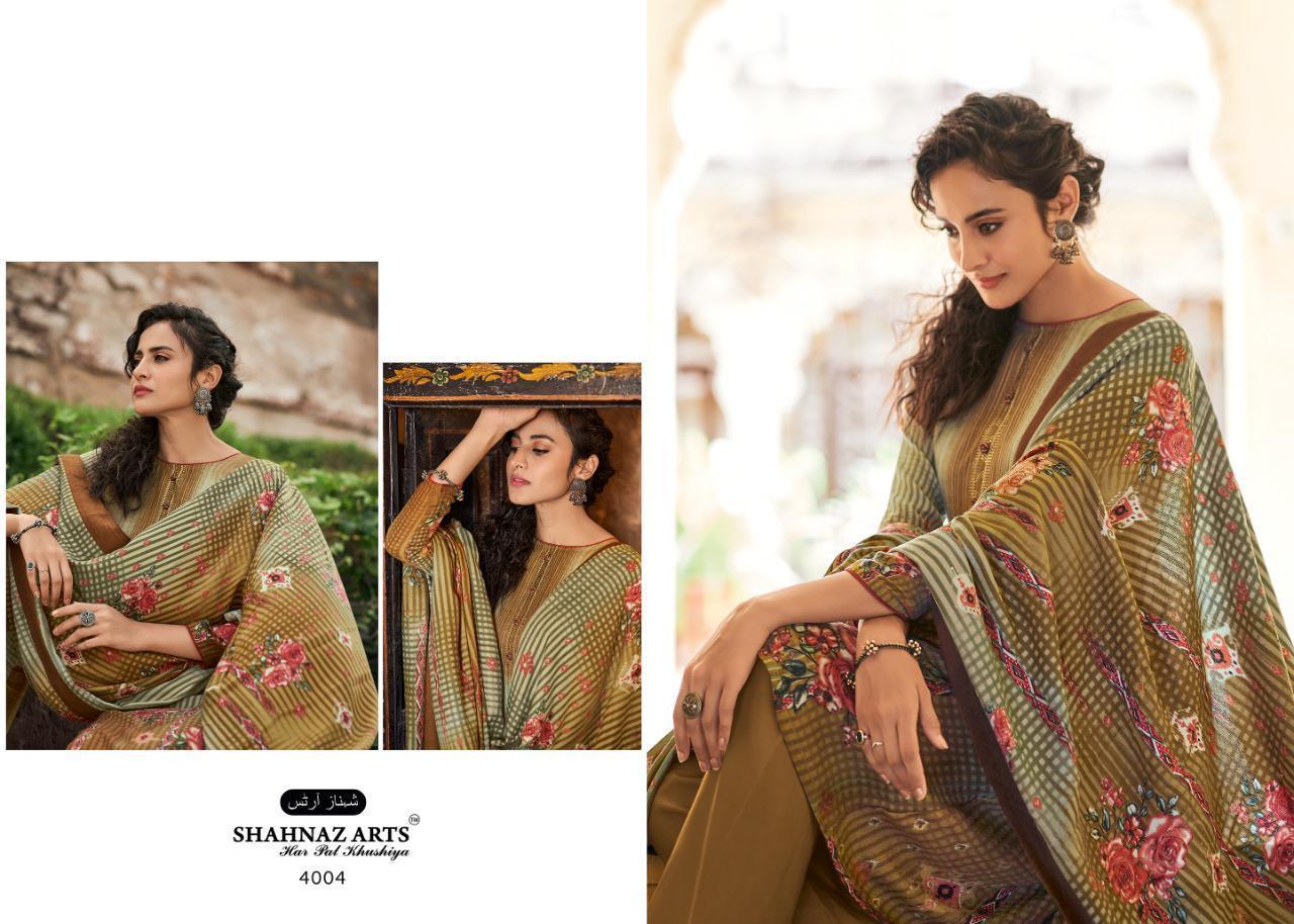 Shahnaz Arts Gulshan Vol 5 Pashmina Salwar Suit Wholesale Catalog 8 Pcs 13 - Shahnaz Arts Gulshan Vol 5 Pashmina Salwar Suit Wholesale Catalog 8 Pcs