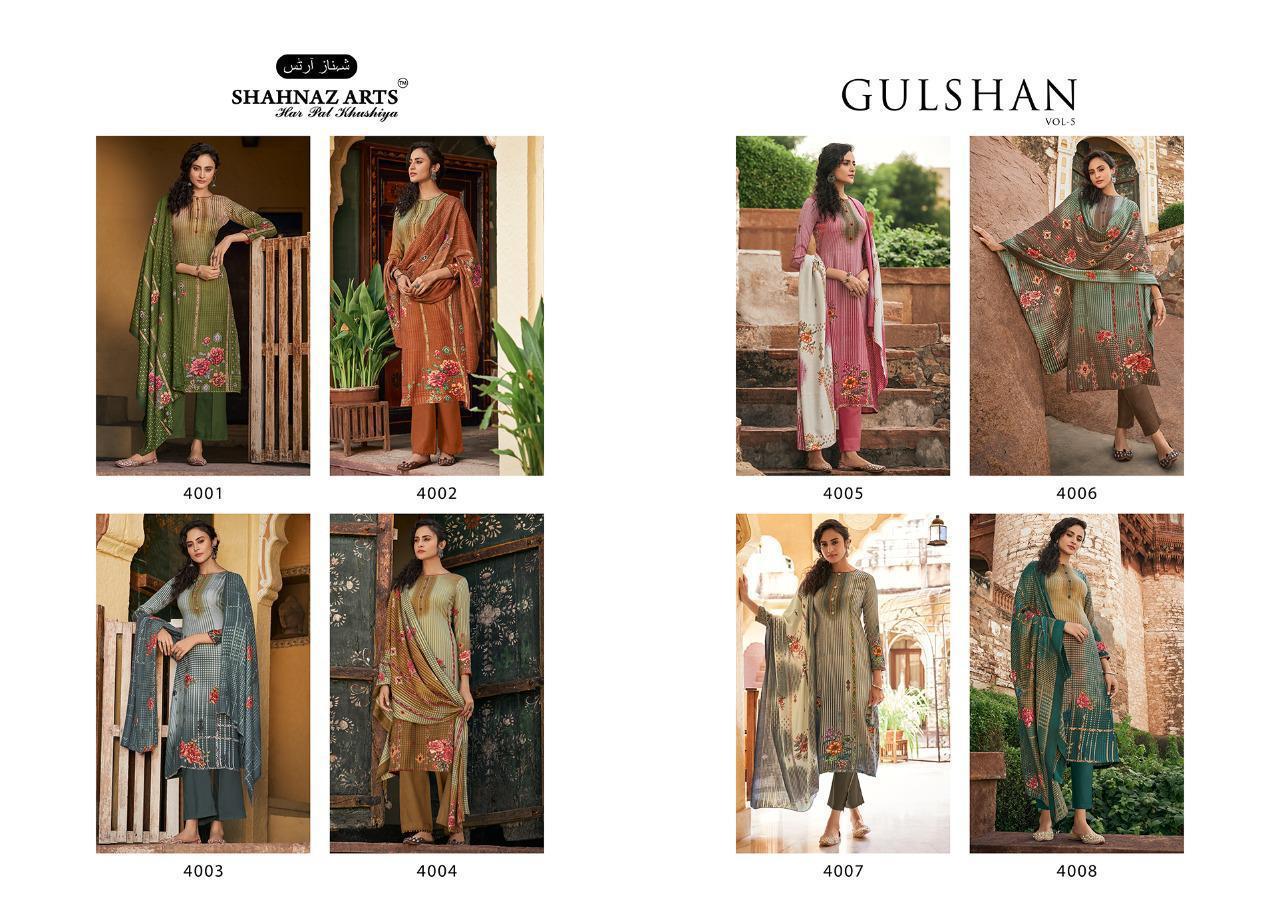 Shahnaz Arts Gulshan Vol 5 Pashmina Salwar Suit Wholesale Catalog 8 Pcs 14 - Shahnaz Arts Gulshan Vol 5 Pashmina Salwar Suit Wholesale Catalog 8 Pcs