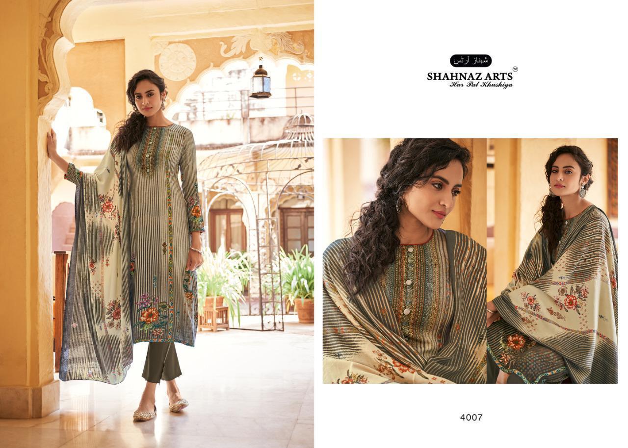 Shahnaz Arts Gulshan Vol 5 Pashmina Salwar Suit Wholesale Catalog 8 Pcs 2 - Shahnaz Arts Gulshan Vol 5 Pashmina Salwar Suit Wholesale Catalog 8 Pcs