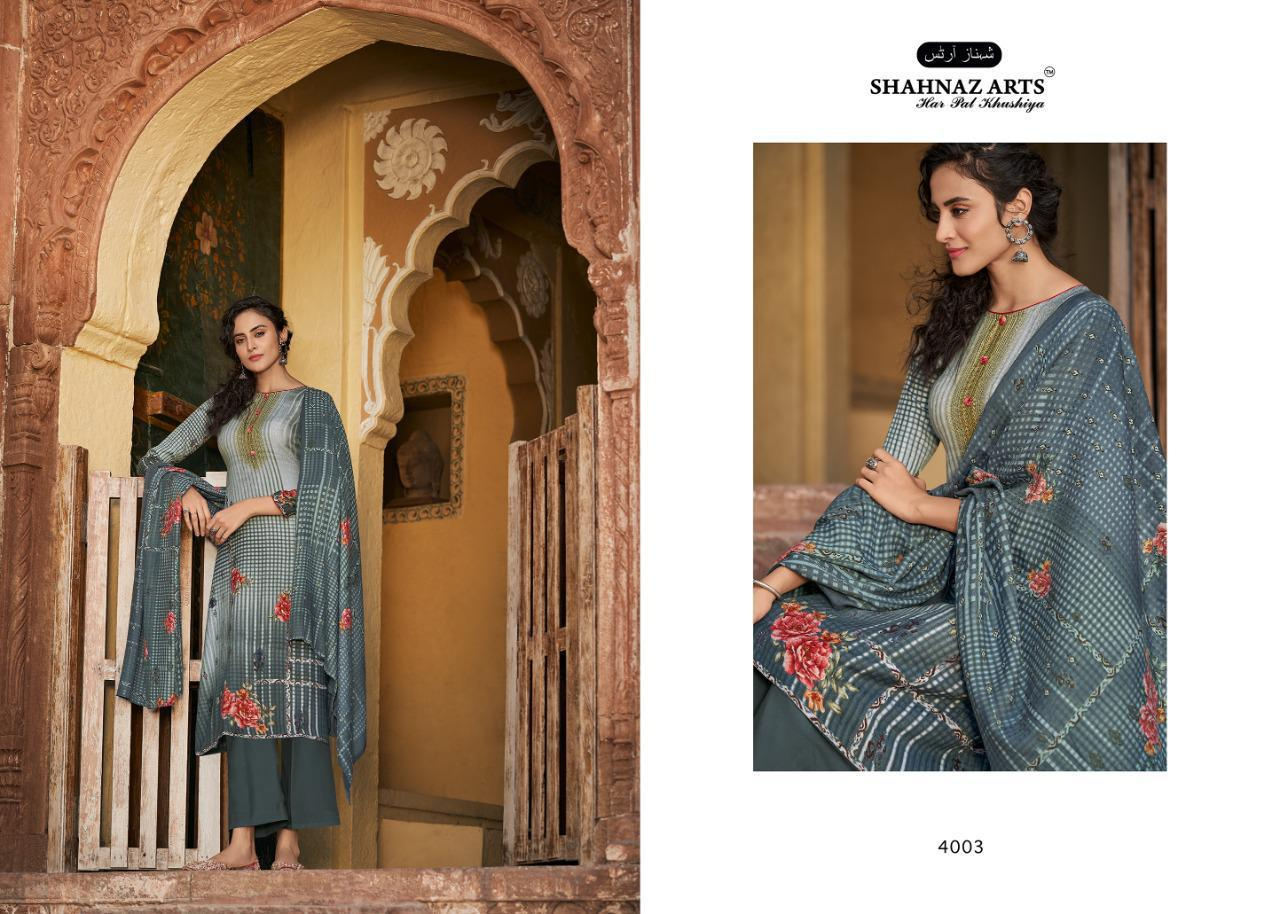 Shahnaz Arts Gulshan Vol 5 Pashmina Salwar Suit Wholesale Catalog 8 Pcs 3 - Shahnaz Arts Gulshan Vol 5 Pashmina Salwar Suit Wholesale Catalog 8 Pcs