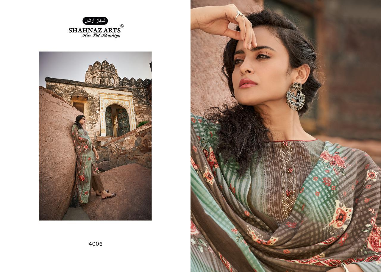 Shahnaz Arts Gulshan Vol 5 Pashmina Salwar Suit Wholesale Catalog 8 Pcs 4 - Shahnaz Arts Gulshan Vol 5 Pashmina Salwar Suit Wholesale Catalog 8 Pcs