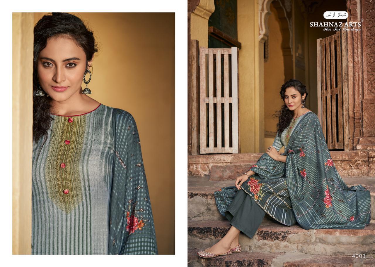Shahnaz Arts Gulshan Vol 5 Pashmina Salwar Suit Wholesale Catalog 8 Pcs 7 - Shahnaz Arts Gulshan Vol 5 Pashmina Salwar Suit Wholesale Catalog 8 Pcs