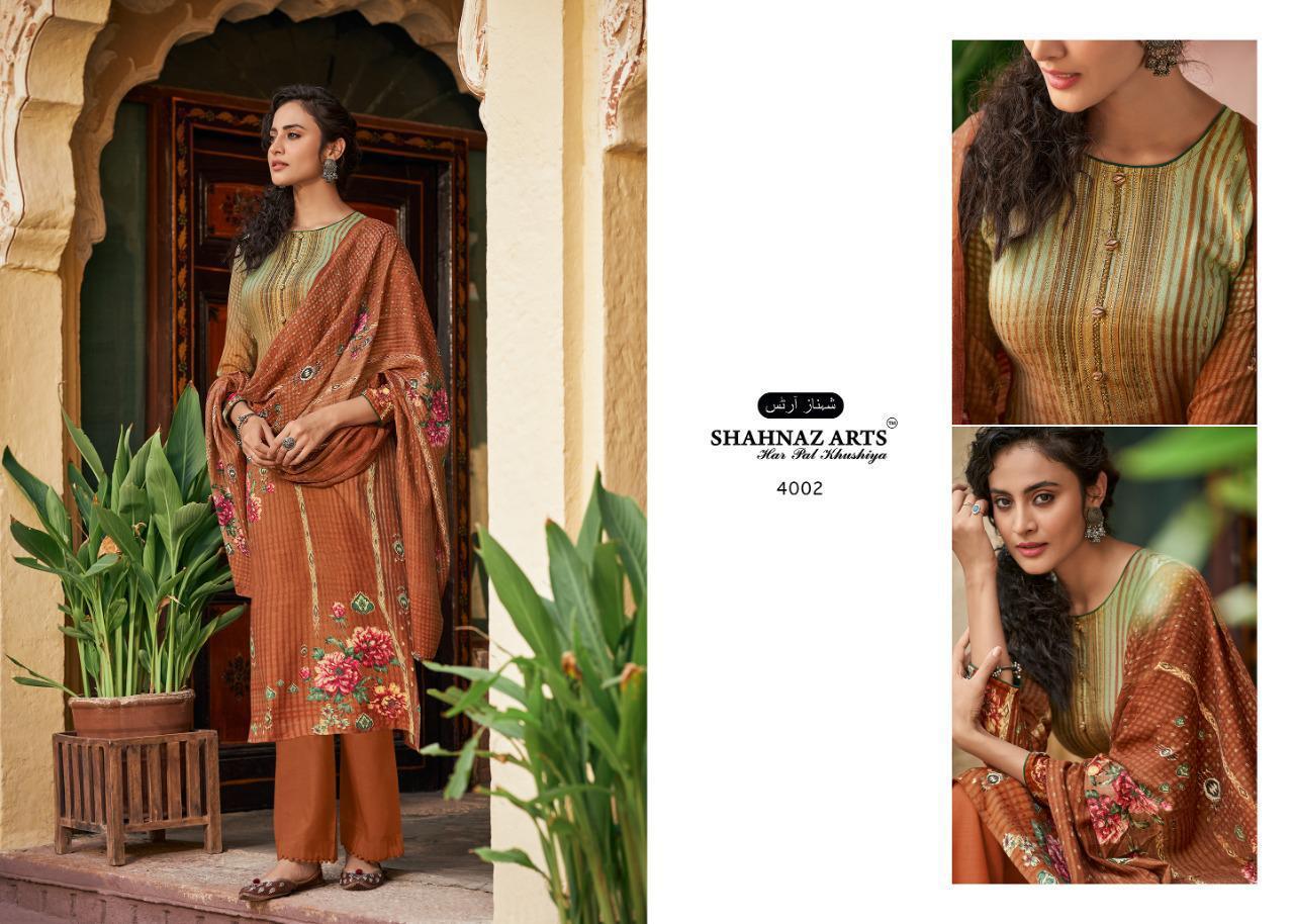 Shahnaz Arts Gulshan Vol 5 Pashmina Salwar Suit Wholesale Catalog 8 Pcs 8 - Shahnaz Arts Gulshan Vol 5 Pashmina Salwar Suit Wholesale Catalog 8 Pcs
