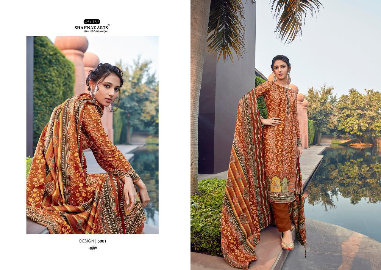 Shahnaz Arts Gulshan Vol 6 Pashmina Salwar Suit Wholesale Catalog 6 Pcs 1 - Shahnaz Arts Gulshan Vol 6 Pashmina Salwar Suit Wholesale Catalog 6 Pcs
