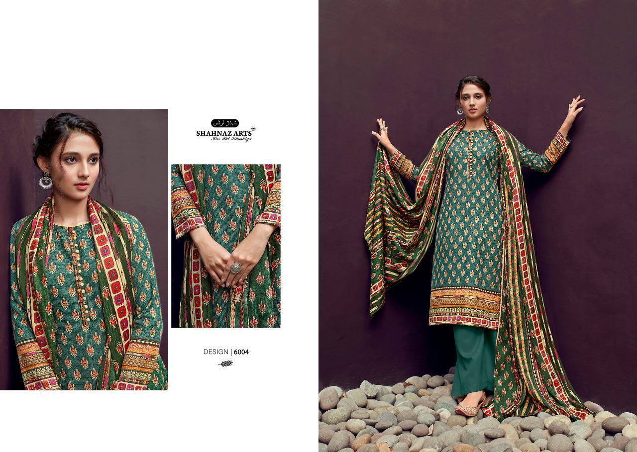 Shahnaz Arts Gulshan Vol 6 Pashmina Salwar Suit Wholesale Catalog 6 Pcs 2 - Shahnaz Arts Gulshan Vol 6 Pashmina Salwar Suit Wholesale Catalog 6 Pcs