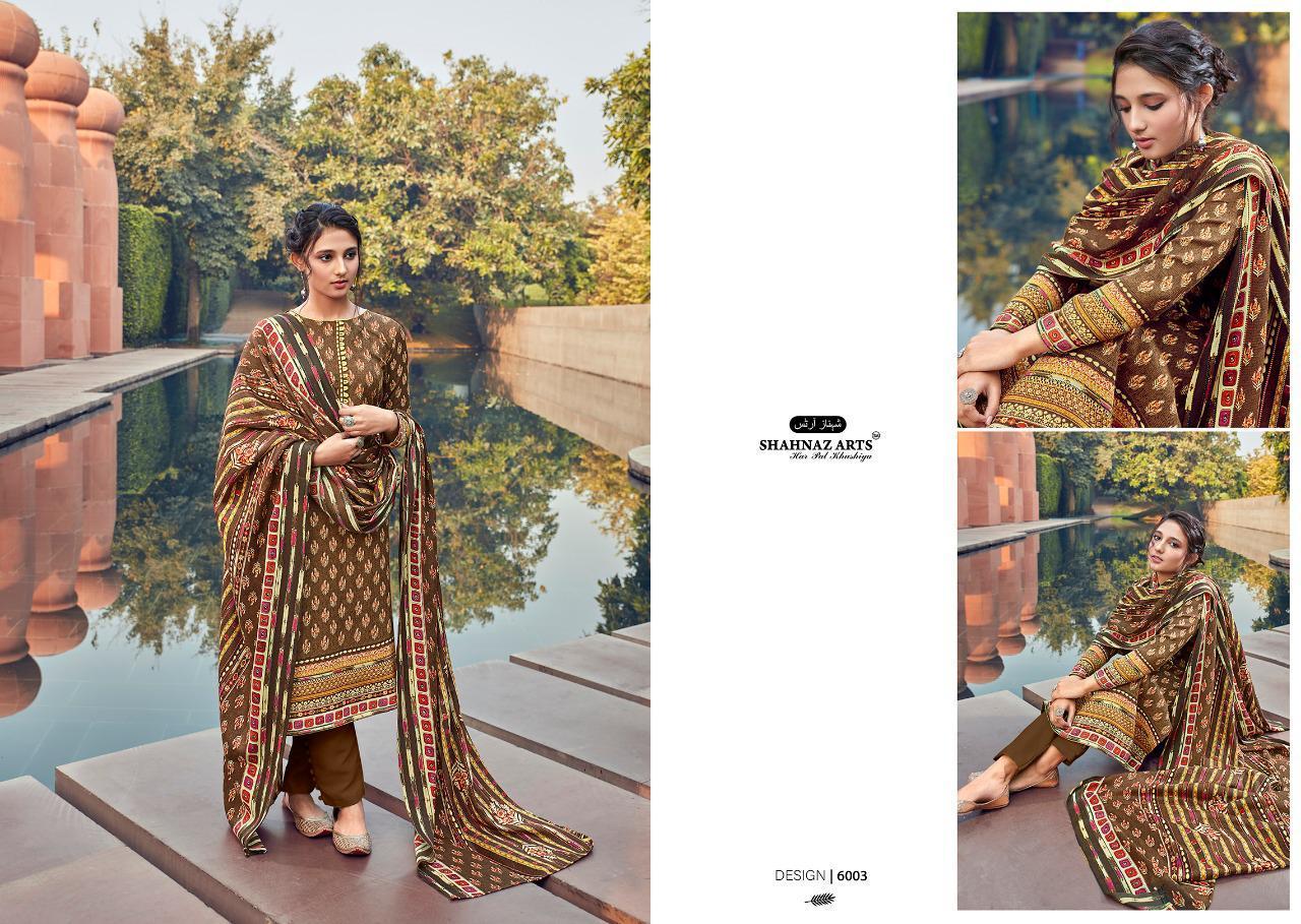 Shahnaz Arts Gulshan Vol 6 Pashmina Salwar Suit Wholesale Catalog 6 Pcs 3 - Shahnaz Arts Gulshan Vol 6 Pashmina Salwar Suit Wholesale Catalog 6 Pcs