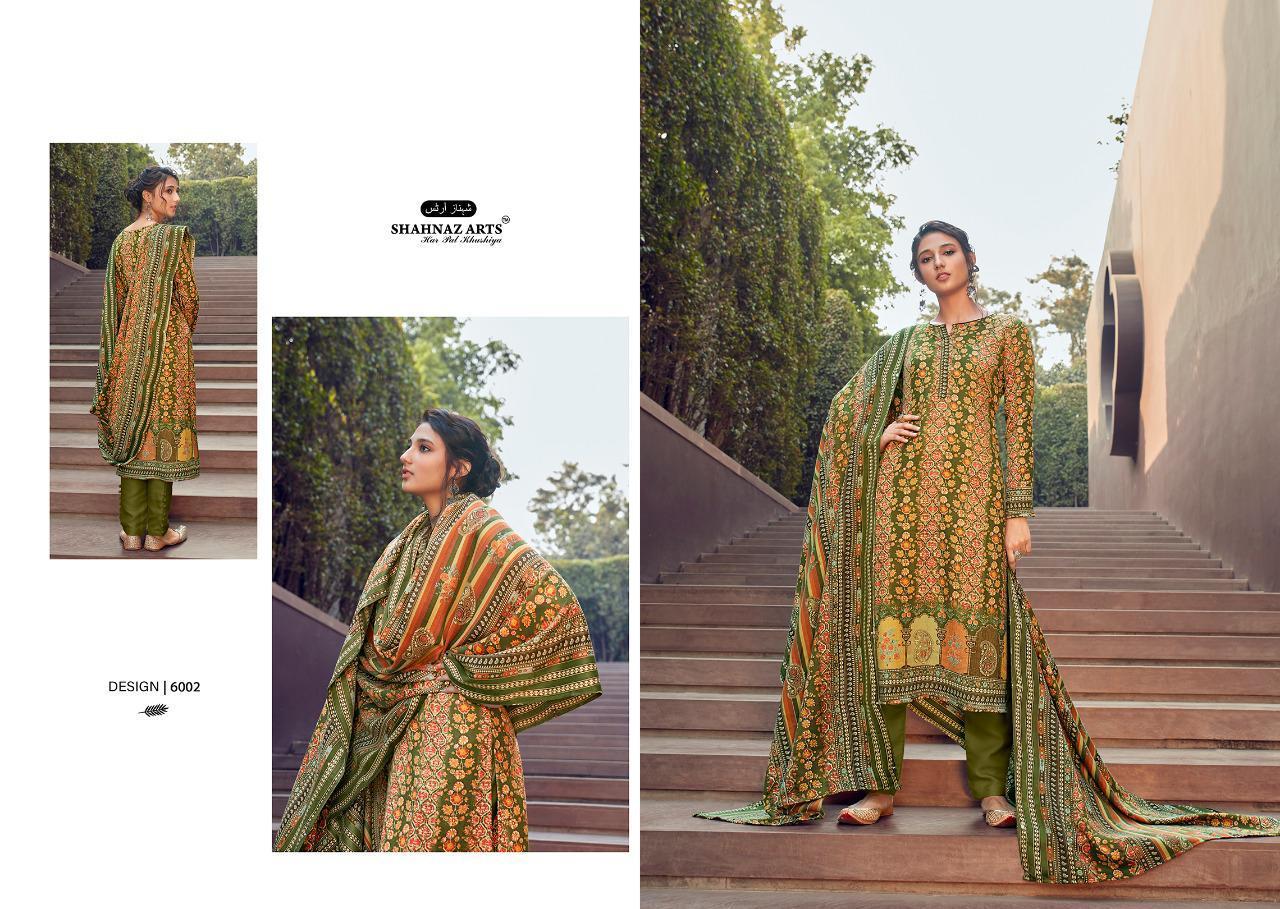 Shahnaz Arts Gulshan Vol 6 Pashmina Salwar Suit Wholesale Catalog 6 Pcs 4 - Shahnaz Arts Gulshan Vol 6 Pashmina Salwar Suit Wholesale Catalog 6 Pcs
