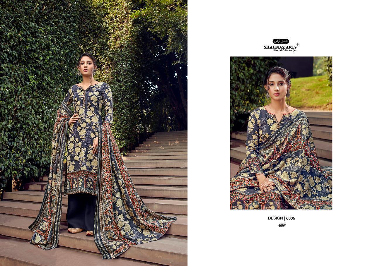 Shahnaz Arts Gulshan Vol 6 Pashmina Salwar Suit Wholesale Catalog 6 Pcs 7 - Shahnaz Arts Gulshan Vol 6 Pashmina Salwar Suit Wholesale Catalog 6 Pcs