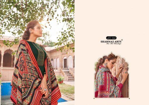 Shahnaz Arts Patola Pashmina Salwar Suit Wholesale Catalog 8 Pcs 1 510x362 - Shahnaz Arts Patola Pashmina Salwar Suit Wholesale Catalog 8 Pcs