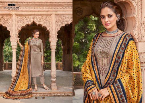 Shahnaz Arts Patola Pashmina Salwar Suit Wholesale Catalog 8 Pcs 14 510x362 - Shahnaz Arts Patola Pashmina Salwar Suit Wholesale Catalog 8 Pcs