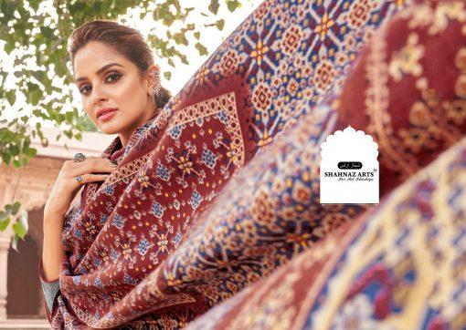 Shahnaz Arts Patola Pashmina Salwar Suit Wholesale Catalog 8 Pcs 4 510x362 - Shahnaz Arts Patola Pashmina Salwar Suit Wholesale Catalog 8 Pcs