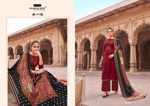 Shahnaz Arts Patola Pashmina Salwar Suit Wholesale Catalog 8 Pcs 6 510x362 - Shahnaz Arts Patola Pashmina Salwar Suit Wholesale Catalog 8 Pcs