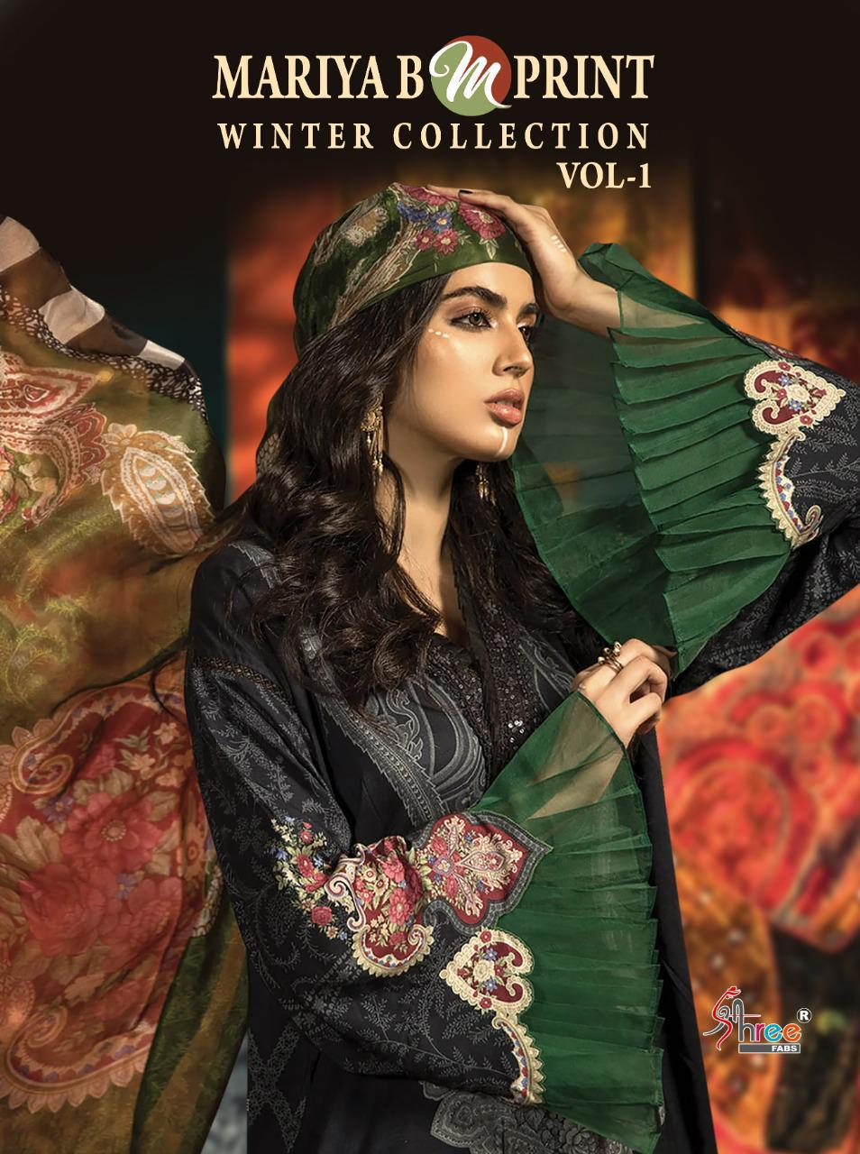 Shree Fabs Mariya B MPrint Winter Collection Vol 1 Salwar Suit Wholesale Catalog 8 Pcs 1 - Shree Fabs Mariya B MPrint Winter Collection Vol 1 Salwar Suit Wholesale Catalog 8 Pcs