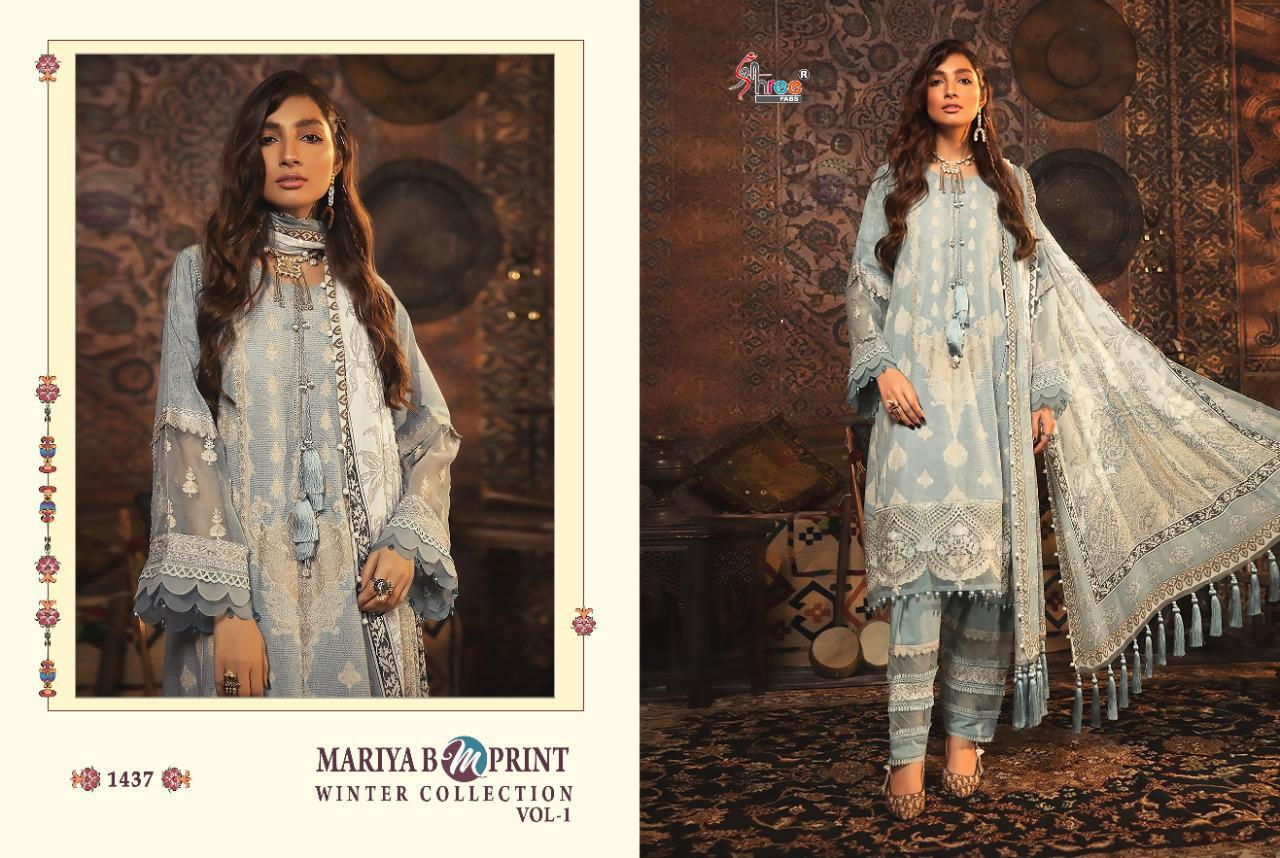 Shree Fabs Mariya B MPrint Winter Collection Vol 1 Salwar Suit Wholesale Catalog 8 Pcs 11 - Shree Fabs Mariya B MPrint Winter Collection Vol 1 Salwar Suit Wholesale Catalog 8 Pcs