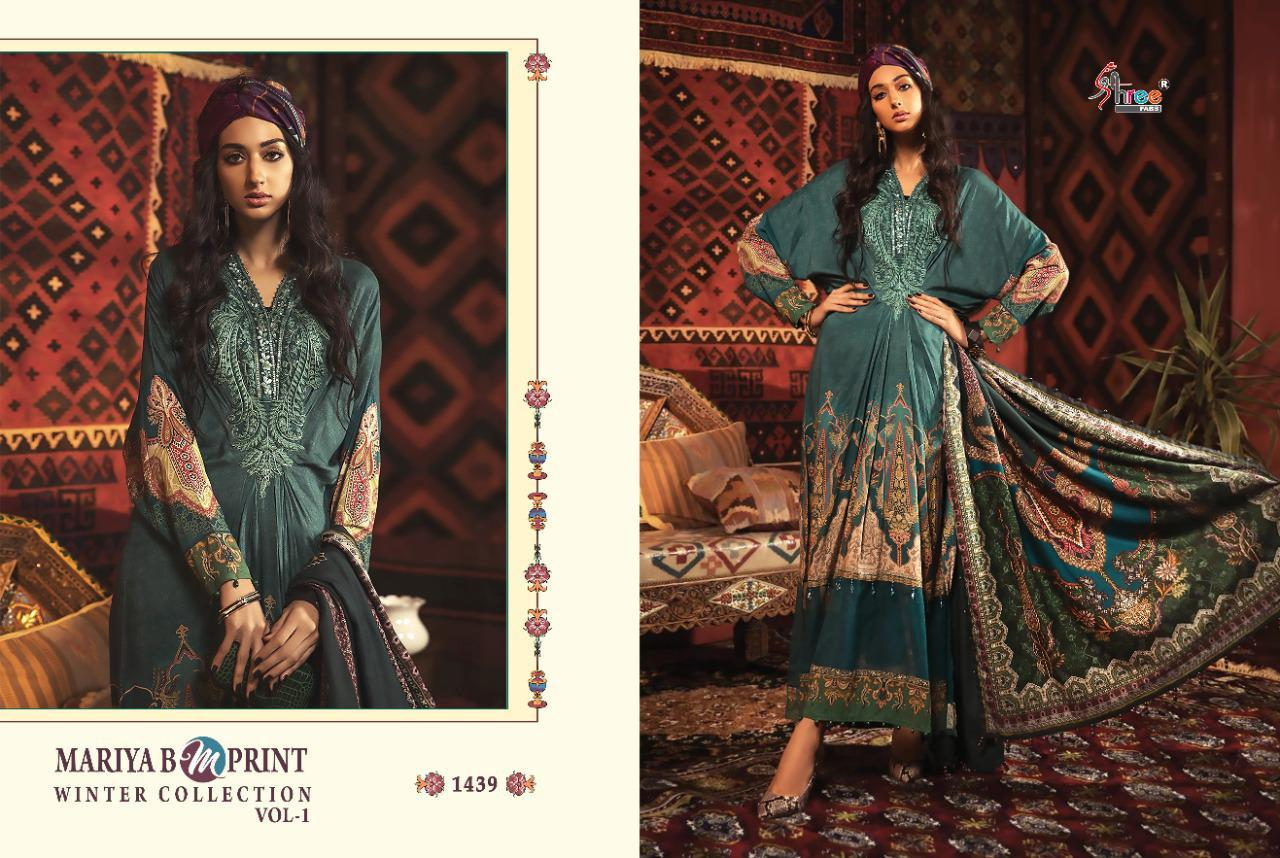 Shree Fabs Mariya B MPrint Winter Collection Vol 1 Salwar Suit Wholesale Catalog 8 Pcs 12 - Shree Fabs Mariya B MPrint Winter Collection Vol 1 Salwar Suit Wholesale Catalog 8 Pcs
