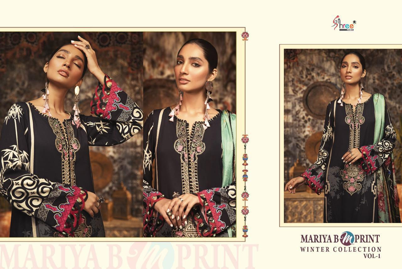 Shree Fabs Mariya B MPrint Winter Collection Vol 1 Salwar Suit Wholesale Catalog 8 Pcs 13 - Shree Fabs Mariya B MPrint Winter Collection Vol 1 Salwar Suit Wholesale Catalog 8 Pcs
