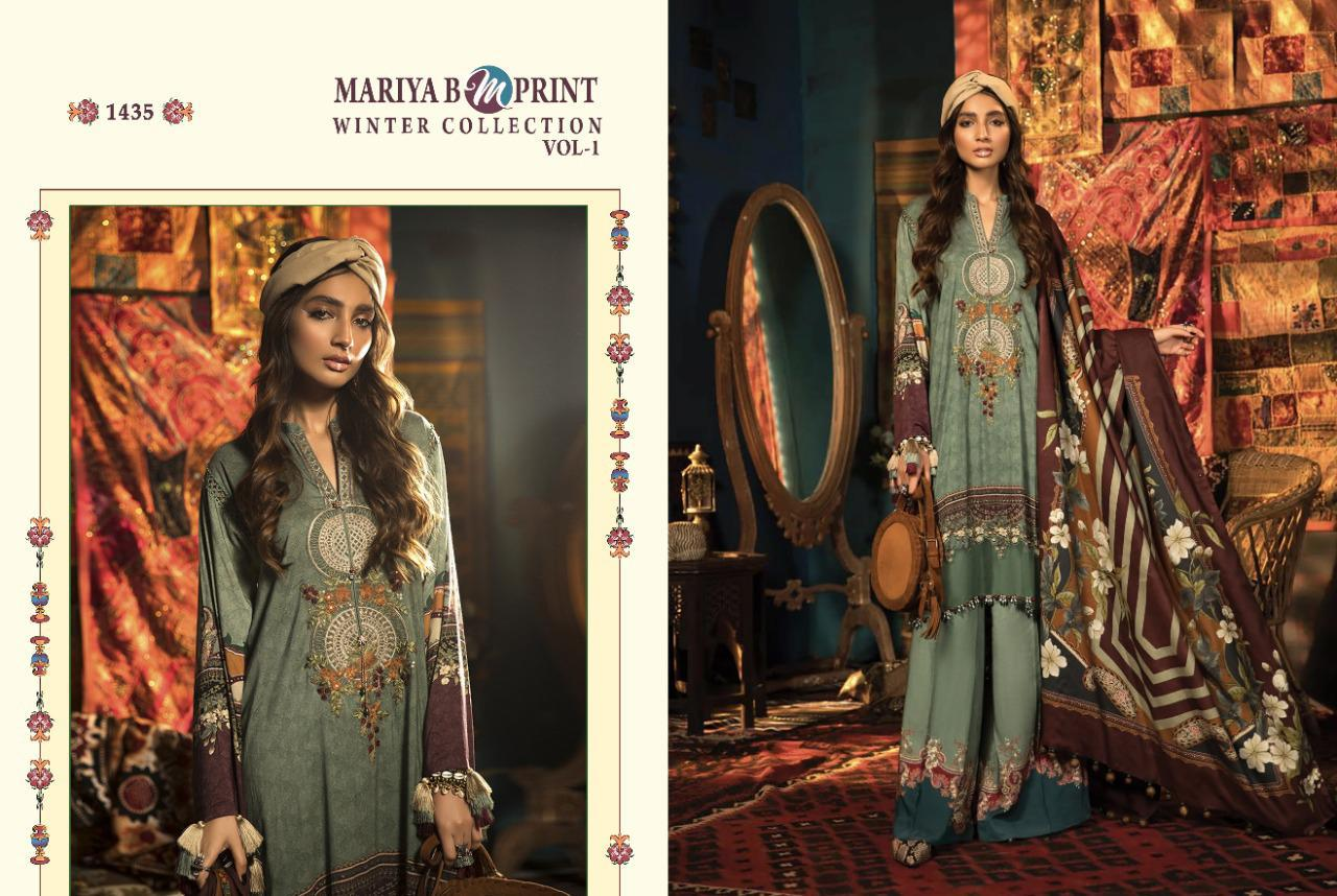 Shree Fabs Mariya B MPrint Winter Collection Vol 1 Salwar Suit Wholesale Catalog 8 Pcs 2 - Shree Fabs Mariya B MPrint Winter Collection Vol 1 Salwar Suit Wholesale Catalog 8 Pcs
