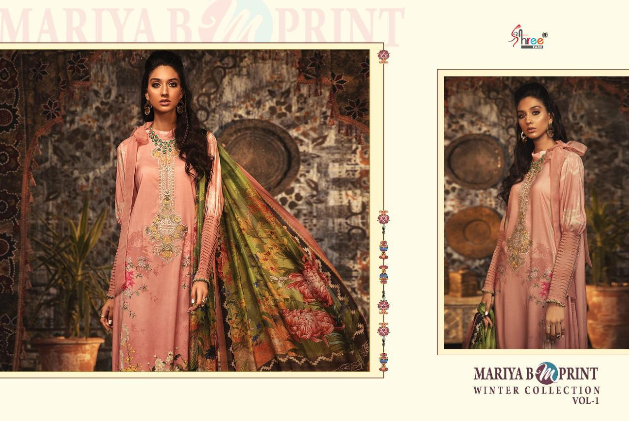 Shree Fabs Mariya B MPrint Winter Collection Vol 1 Salwar Suit Wholesale Catalog 8 Pcs 4 - Shree Fabs Mariya B MPrint Winter Collection Vol 1 Salwar Suit Wholesale Catalog 8 Pcs