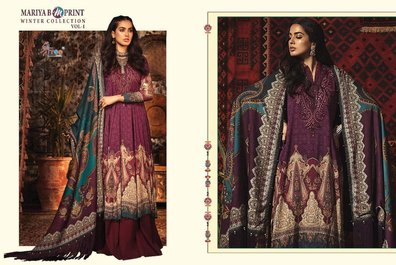 Shree Fabs Mariya B MPrint Winter Collection Vol 1 Salwar Suit Wholesale Catalog 8 Pcs 9 - Shree Fabs Mariya B MPrint Winter Collection Vol 1 Salwar Suit Wholesale Catalog 8 Pcs