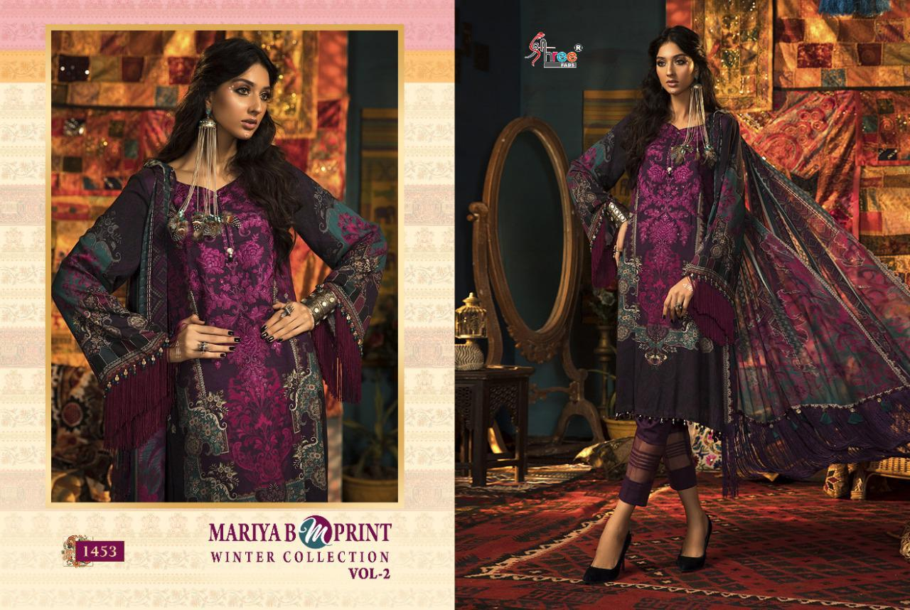 Shree Fabs Mariya B MPrint Winter Collection Vol 2 Salwar Suit Wholesale Catalog 8 Pcs 10 - Shree Fabs Mariya B MPrint Winter Collection Vol 2 Salwar Suit Wholesale Catalog 8 Pcs