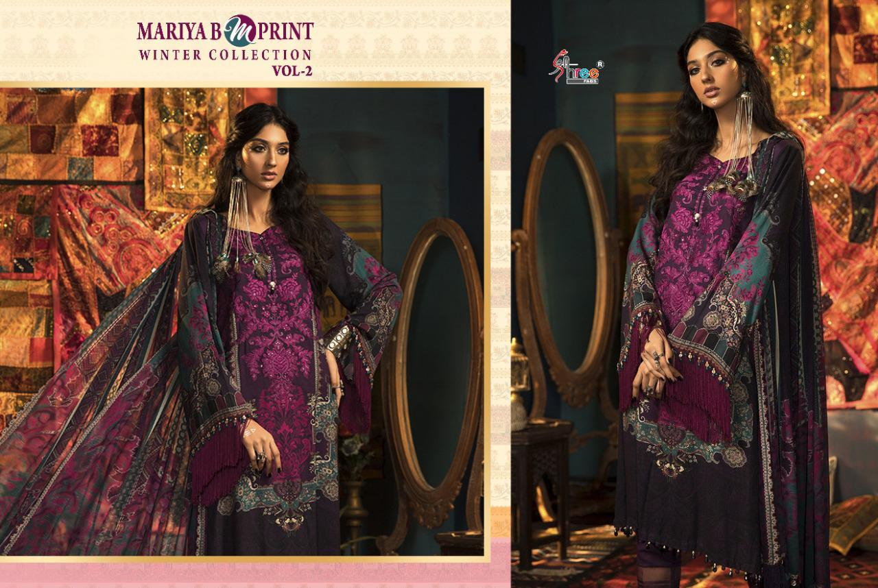 Shree Fabs Mariya B MPrint Winter Collection Vol 2 Salwar Suit Wholesale Catalog 8 Pcs 11 - Shree Fabs Mariya B MPrint Winter Collection Vol 2 Salwar Suit Wholesale Catalog 8 Pcs