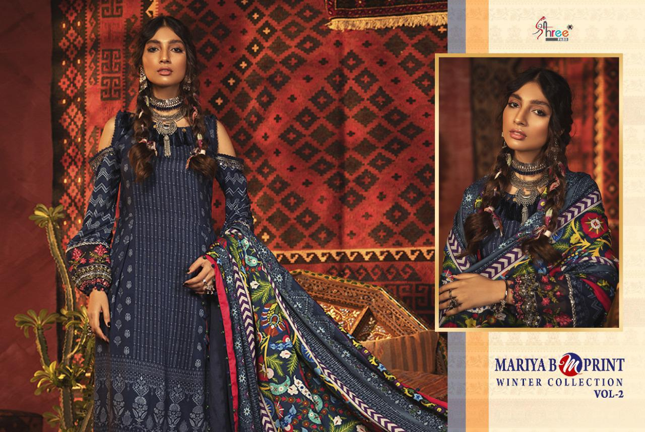 Shree Fabs Mariya B MPrint Winter Collection Vol 2 Salwar Suit Wholesale Catalog 8 Pcs 13 - Shree Fabs Mariya B MPrint Winter Collection Vol 2 Salwar Suit Wholesale Catalog 8 Pcs