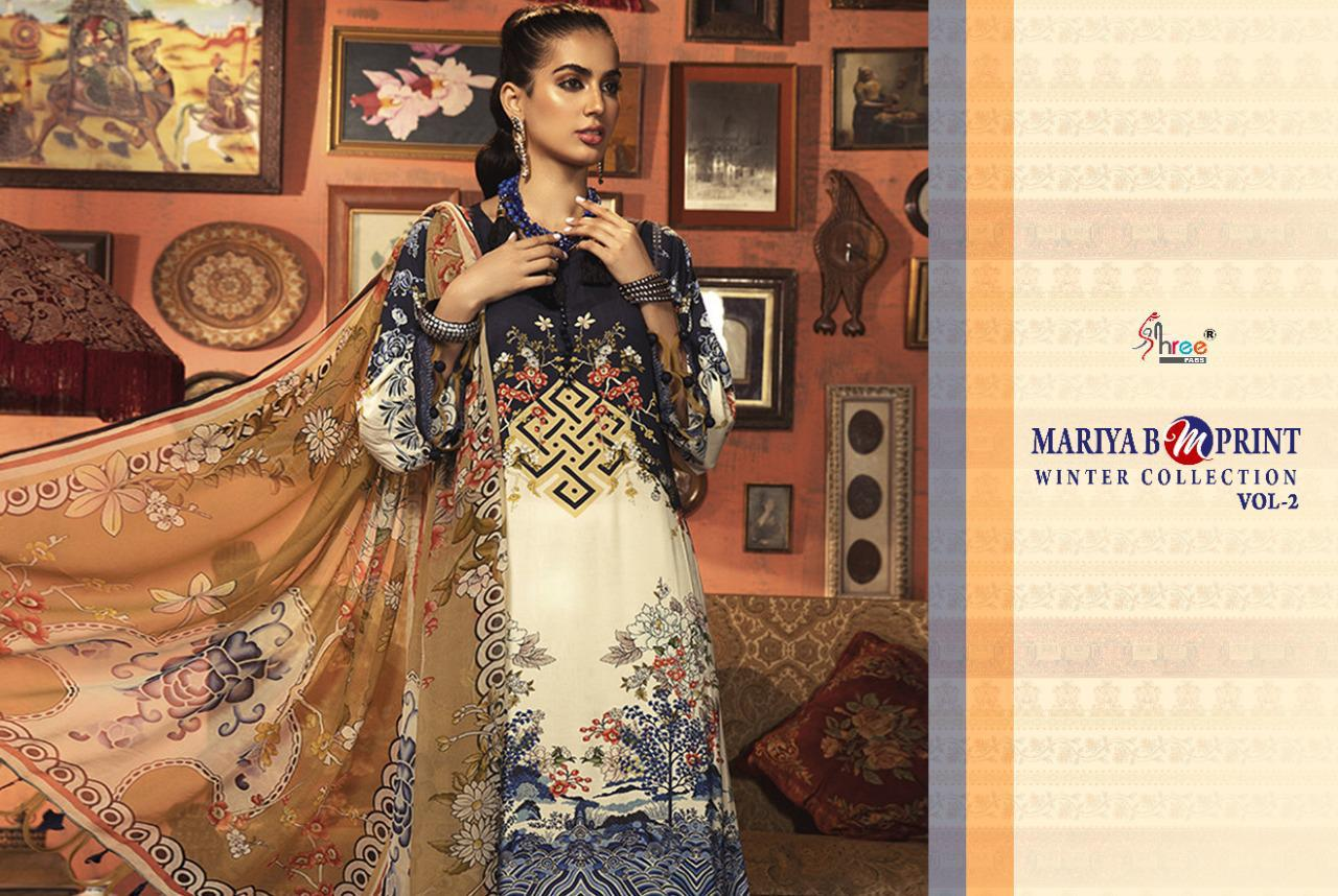 Shree Fabs Mariya B MPrint Winter Collection Vol 2 Salwar Suit Wholesale Catalog 8 Pcs 17 - Shree Fabs Mariya B MPrint Winter Collection Vol 2 Salwar Suit Wholesale Catalog 8 Pcs