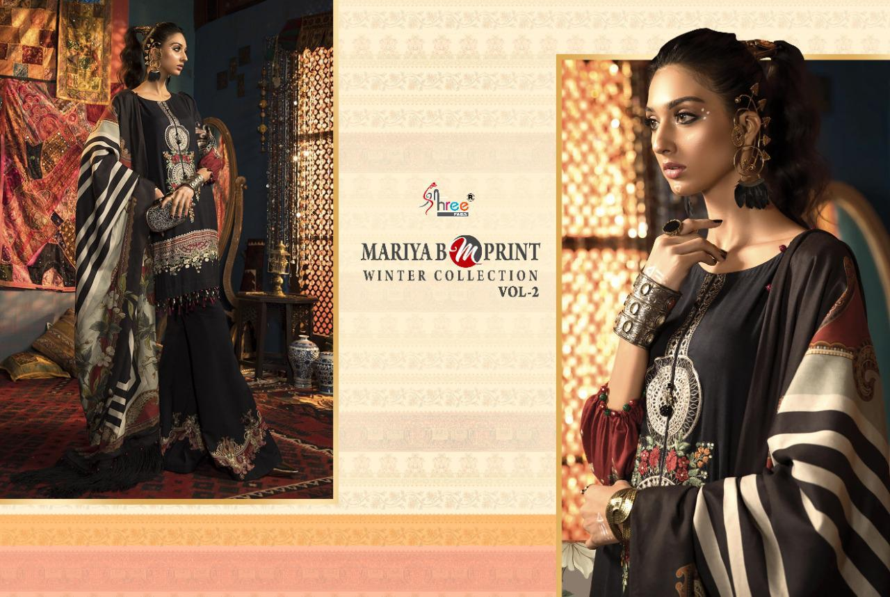 Shree Fabs Mariya B MPrint Winter Collection Vol 2 Salwar Suit Wholesale Catalog 8 Pcs 3 - Shree Fabs Mariya B MPrint Winter Collection Vol 2 Salwar Suit Wholesale Catalog 8 Pcs