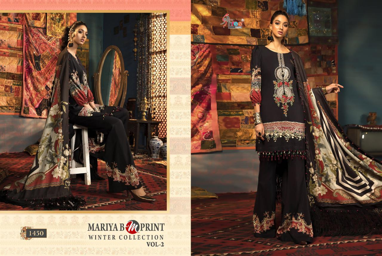 Shree Fabs Mariya B MPrint Winter Collection Vol 2 Salwar Suit Wholesale Catalog 8 Pcs 7 - Shree Fabs Mariya B MPrint Winter Collection Vol 2 Salwar Suit Wholesale Catalog 8 Pcs
