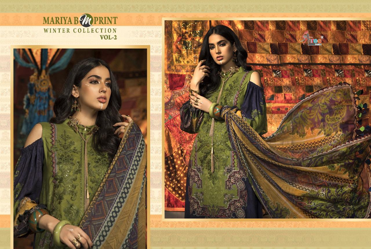 Shree Fabs Mariya B MPrint Winter Collection Vol 2 Salwar Suit Wholesale Catalog 8 Pcs 8 - Shree Fabs Mariya B MPrint Winter Collection Vol 2 Salwar Suit Wholesale Catalog 8 Pcs
