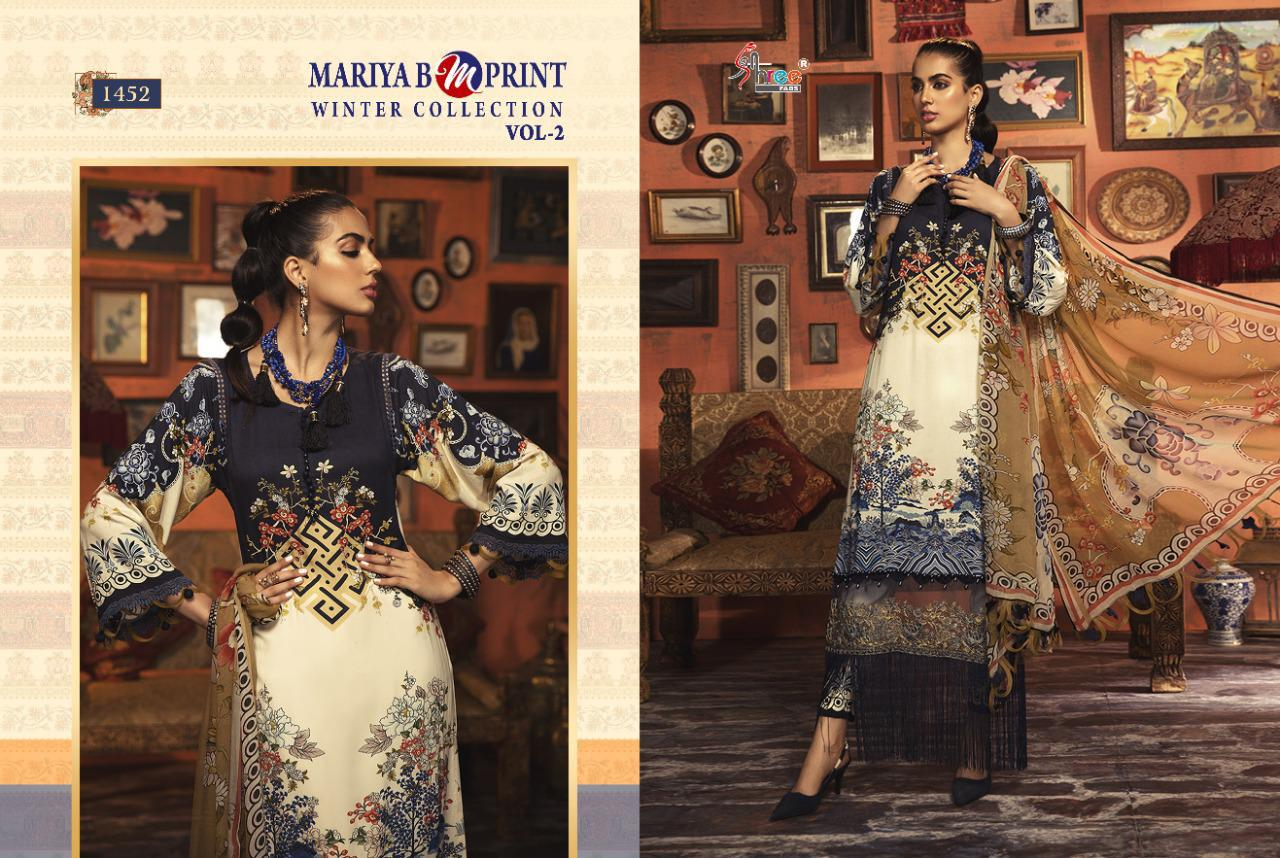 Shree Fabs Mariya B MPrint Winter Collection Vol 2 Salwar Suit Wholesale Catalog 8 Pcs 9 - Shree Fabs Mariya B MPrint Winter Collection Vol 2 Salwar Suit Wholesale Catalog 8 Pcs