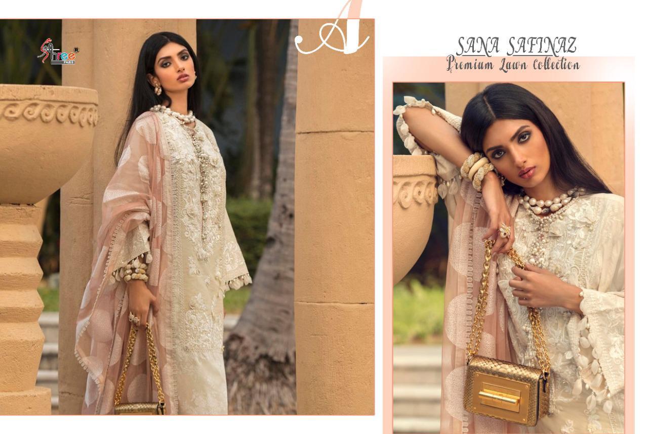 Shree Fabs Sana Safinaz Premium Lawn Collection Salwar Suit Wholesale Catalog 7 Pcs 11 - Shree Fabs Sana Safinaz Premium Lawn Collection Salwar Suit Wholesale Catalog 7 Pcs