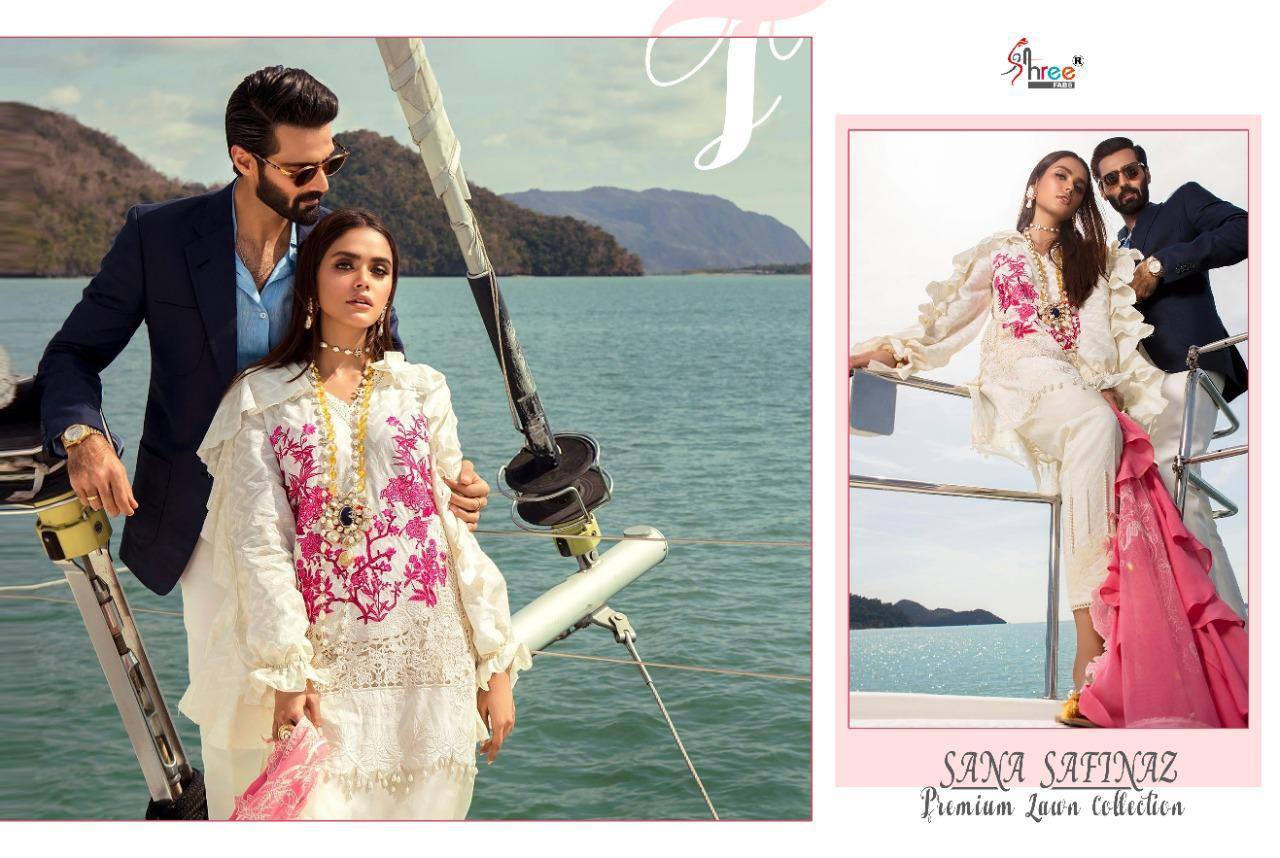 Shree Fabs Sana Safinaz Premium Lawn Collection Salwar Suit Wholesale Catalog 7 Pcs 12 - Shree Fabs Sana Safinaz Premium Lawn Collection Salwar Suit Wholesale Catalog 7 Pcs