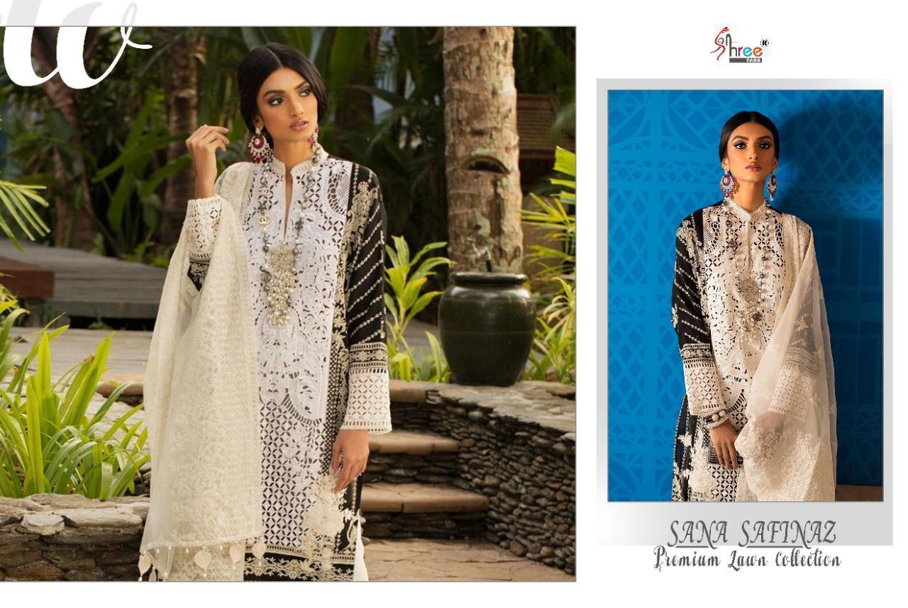 Shree Fabs Sana Safinaz Premium Lawn Collection Salwar Suit Wholesale Catalog 7 Pcs 13 - Shree Fabs Sana Safinaz Premium Lawn Collection Salwar Suit Wholesale Catalog 7 Pcs
