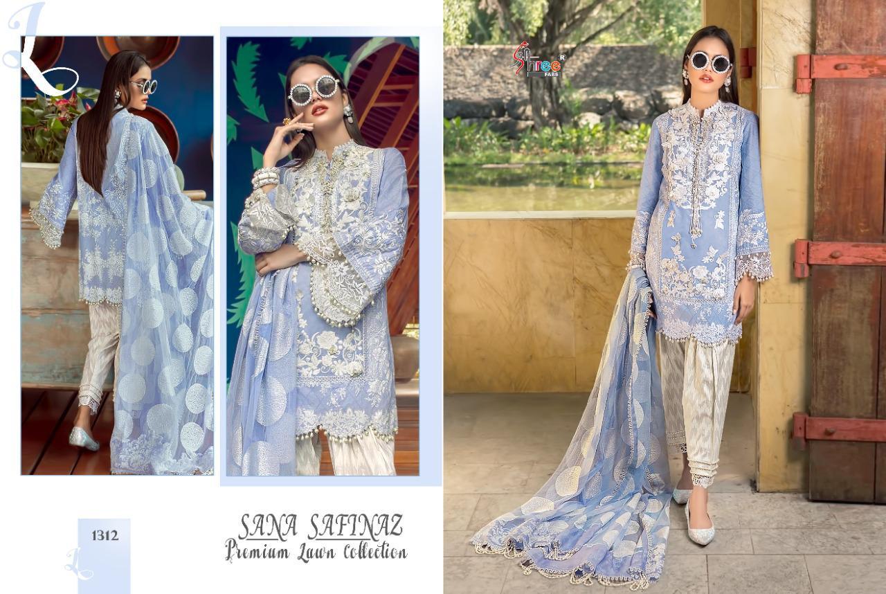 Shree Fabs Sana Safinaz Premium Lawn Collection Salwar Suit Wholesale Catalog 7 Pcs 5 - Shree Fabs Sana Safinaz Premium Lawn Collection Salwar Suit Wholesale Catalog 7 Pcs