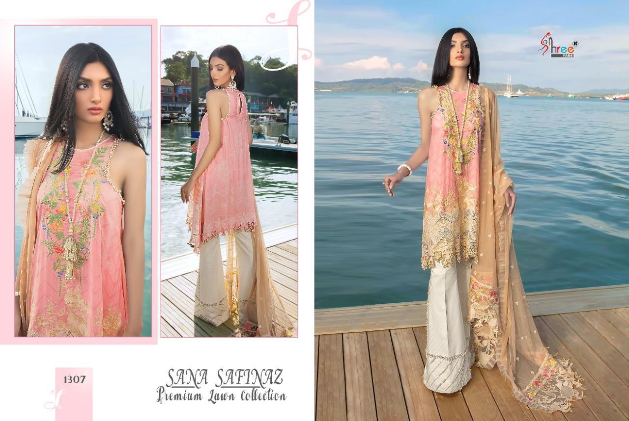 Shree Fabs Sana Safinaz Premium Lawn Collection Salwar Suit Wholesale Catalog 7 Pcs 7 - Shree Fabs Sana Safinaz Premium Lawn Collection Salwar Suit Wholesale Catalog 7 Pcs