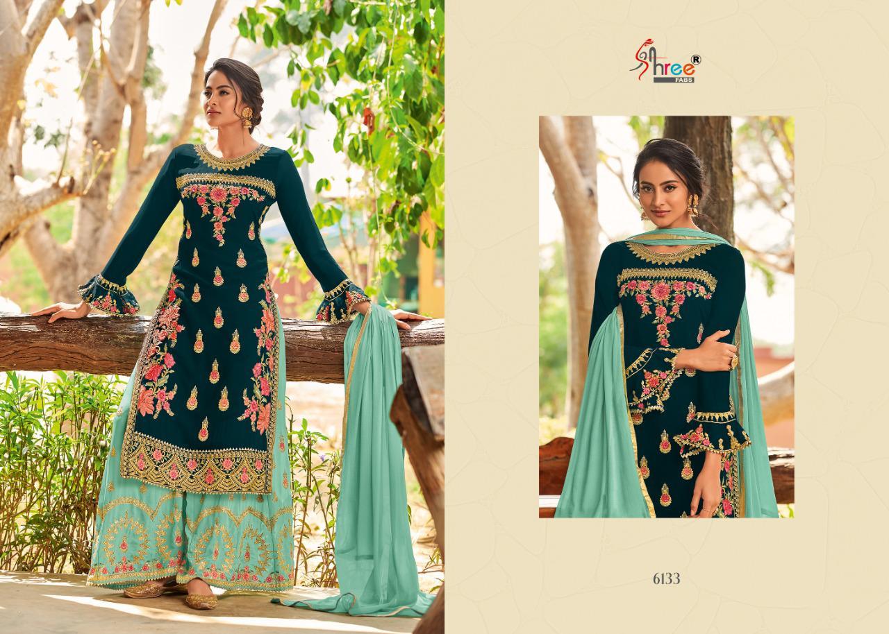 Shree Fabs Shahnai Bridal Collection Vol 26 Salwar Suit Wholesale Catalog 5 Pcs 10 - Shree Fabs Shahnai Bridal Collection Vol 26 Salwar Suit Wholesale Catalog 5 Pcs