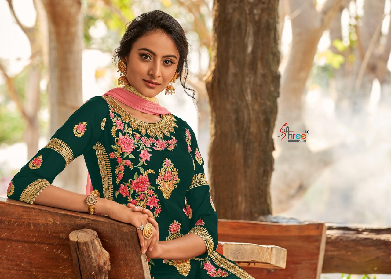 Shree Fabs Shahnai Bridal Collection Vol 26 Salwar Suit Wholesale Catalog 5 Pcs 2 - Shree Fabs Shahnai Bridal Collection Vol 26 Salwar Suit Wholesale Catalog 5 Pcs
