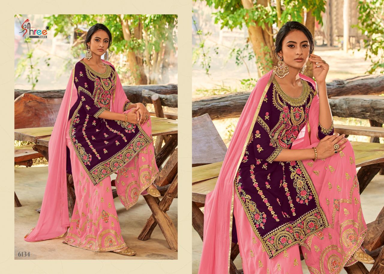 Shree Fabs Shahnai Bridal Collection Vol 26 Salwar Suit Wholesale Catalog 5 Pcs 3 - Shree Fabs Shahnai Bridal Collection Vol 26 Salwar Suit Wholesale Catalog 5 Pcs