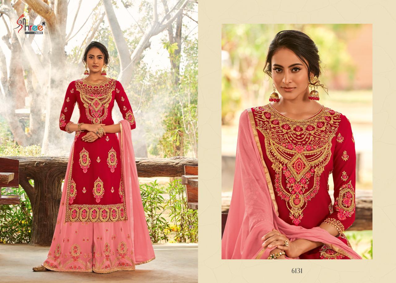 Shree Fabs Shahnai Bridal Collection Vol 26 Salwar Suit Wholesale Catalog 5 Pcs 7 - Shree Fabs Shahnai Bridal Collection Vol 26 Salwar Suit Wholesale Catalog 5 Pcs
