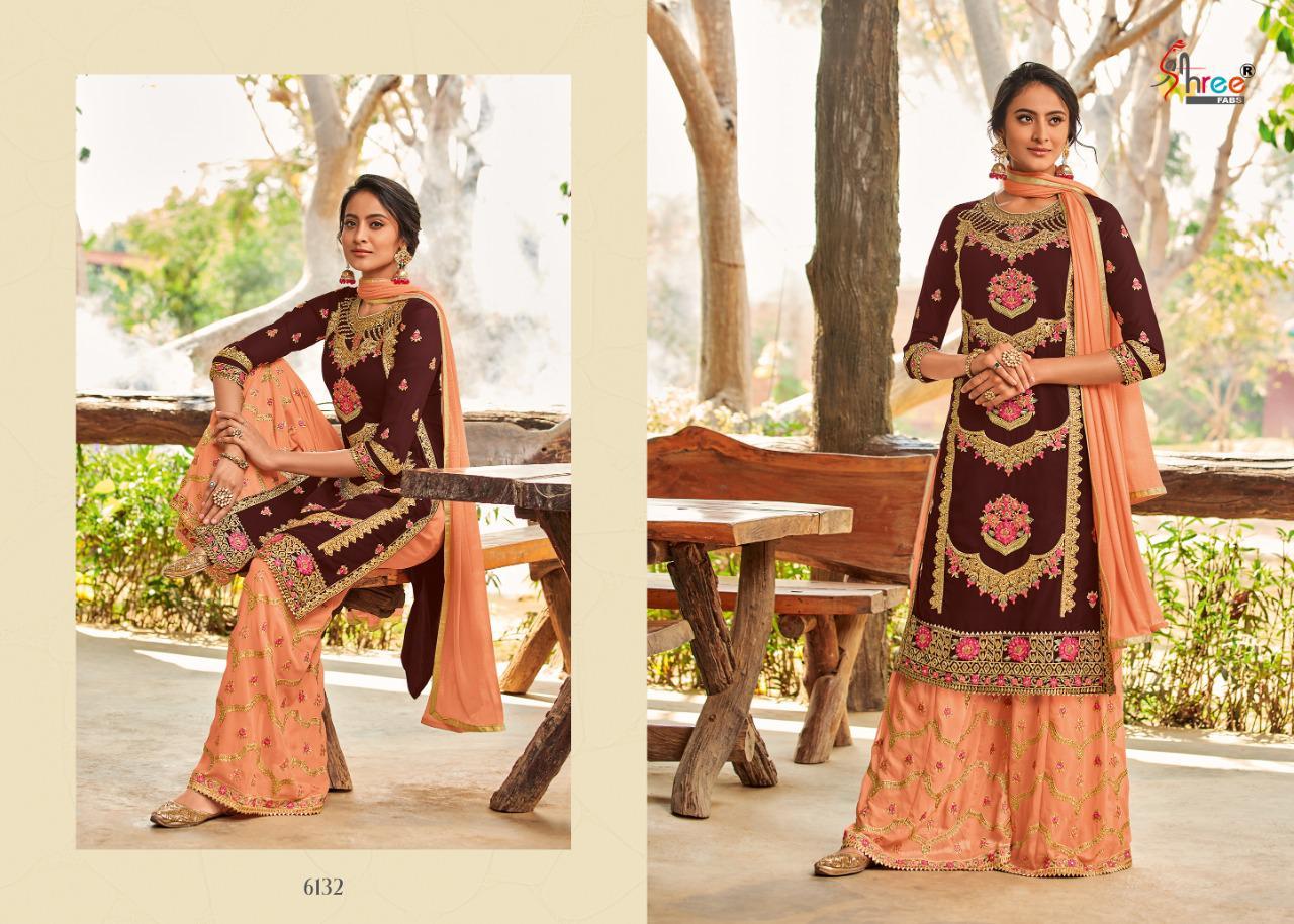 Shree Fabs Shahnai Bridal Collection Vol 26 Salwar Suit Wholesale Catalog 5 Pcs 8 - Shree Fabs Shahnai Bridal Collection Vol 26 Salwar Suit Wholesale Catalog 5 Pcs