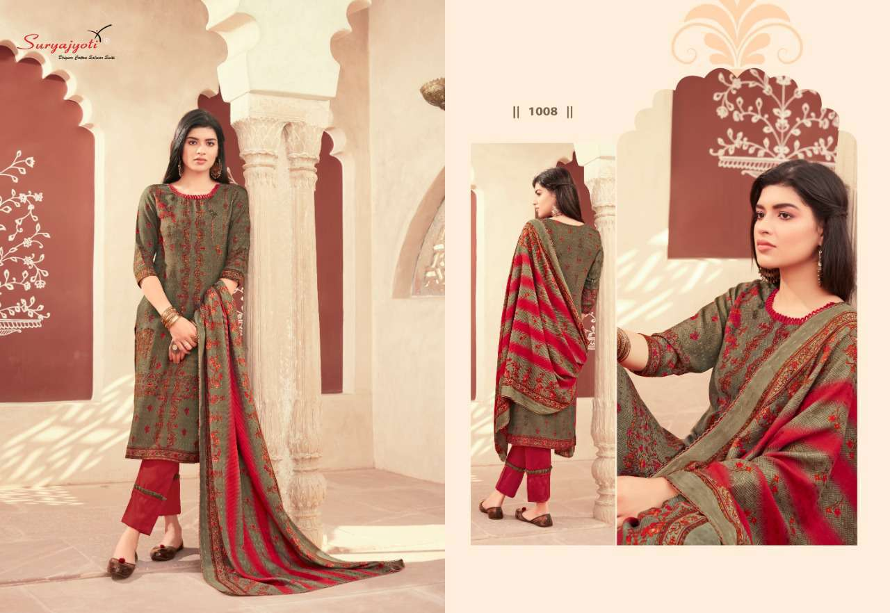 Suryajyoti Nazia Vol 1 Pashmina Salwar Suit Wholesale Catalog 10 Pcs 1 - Suryajyoti Nazia Vol 1 Pashmina Salwar Suit Wholesale Catalog 10 Pcs