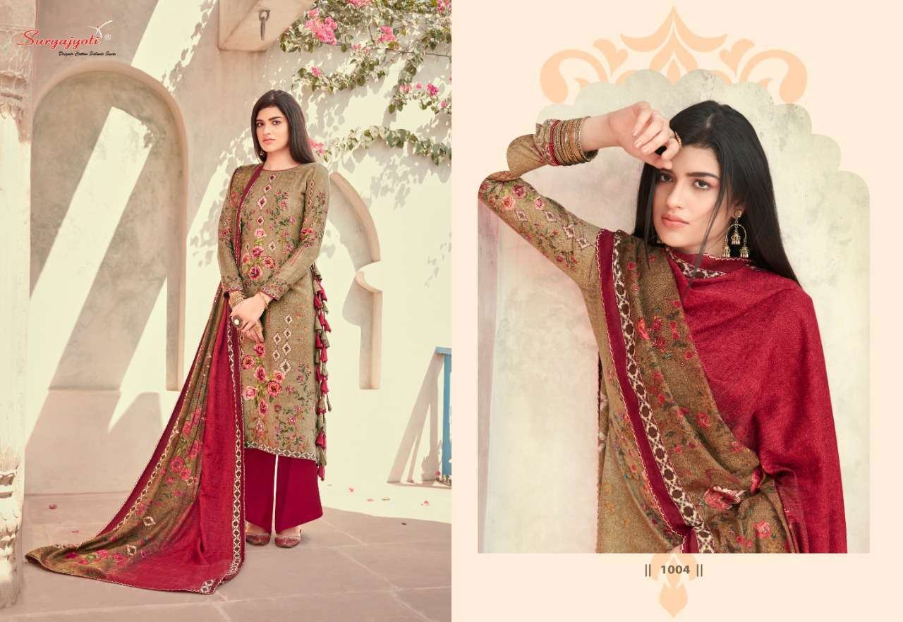 Suryajyoti Nazia Vol 1 Pashmina Salwar Suit Wholesale Catalog 10 Pcs 10 - Suryajyoti Nazia Vol 1 Pashmina Salwar Suit Wholesale Catalog 10 Pcs